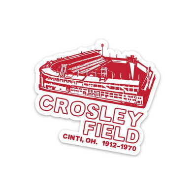 The Rivertown Inkery Sticker Crosley Field Sticker