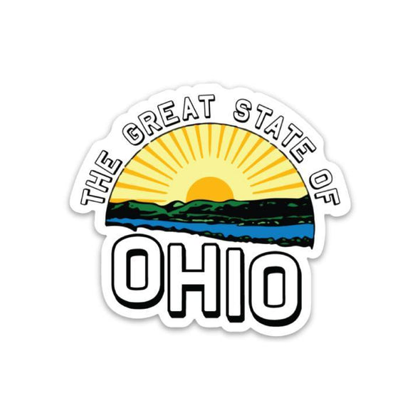 The Rivertown Inkery Sticker Great State Of Ohio Sticker