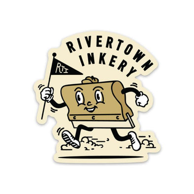 The Rivertown Inkery Sticker Rivertown Inkery Squeegee Man Sticker
