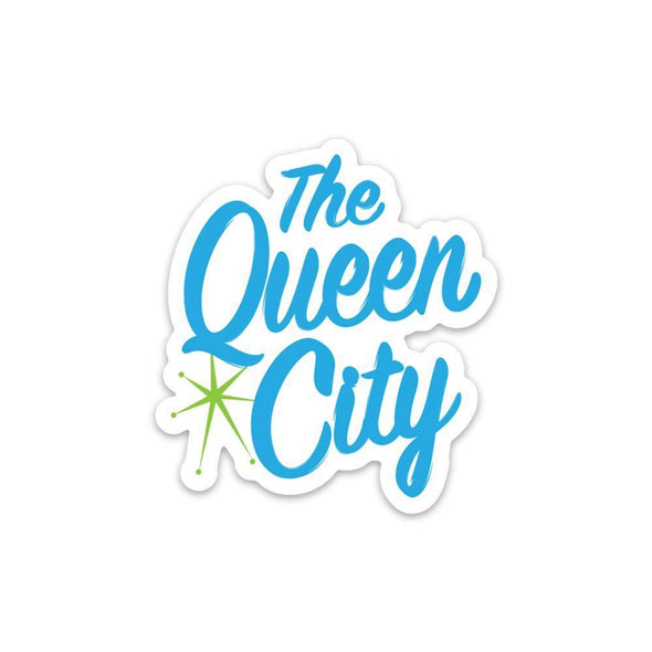 The Rivertown Inkery Sticker The Queen City Sticker ( MCM Edition)