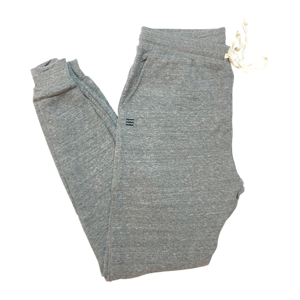 The Rivertown Inkery Sweatpants Waves Jogger (Eco Triblend)