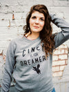 The Rivertown Inkery Sweatshirt Cincy Is For Dreamers Crewneck