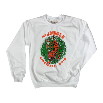 The Rivertown Inkery Sweatshirt Jungle Crewneck Sweatshirt