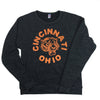 The Rivertown Inkery Sweatshirt Tiger Crewneck Sweatshirt