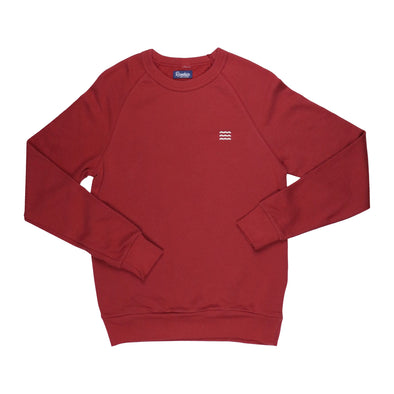 The Rivertown Inkery Sweatshirt Waves Lightweight Crewneck