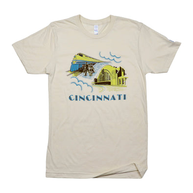 The Rivertown Inkery T-Shirt Cincinnati Union Terminal Tee