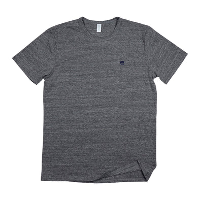 The Rivertown Inkery T-Shirt Extra Small / Grey Waves Basic Tee (Eco Triblend)