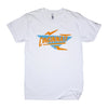 The Rivertown Inkery T-Shirt Extra Small / White Electric 90's Cincinnati Tee
