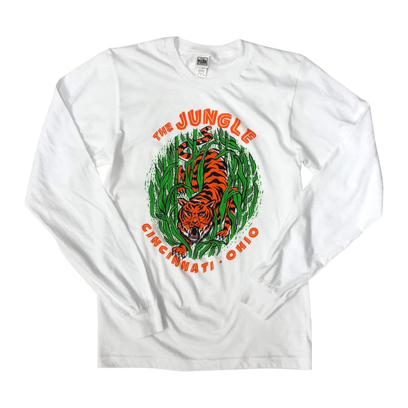 The Rivertown Inkery T-Shirt Jungle Long Sleeve Tee