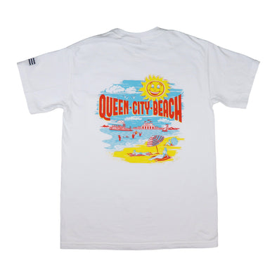 The Rivertown Inkery T-Shirt Queen City Beach Tee