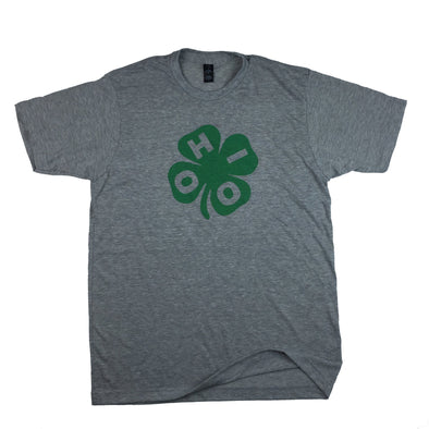 The Rivertown Inkery T-Shirt Small / Grey Clover Ohio Tee