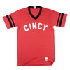 The Rivertown Inkery T-Shirt Small / Red Cincy Ringer Tee
