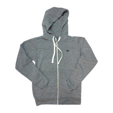 The Rivertown Inkery Waves Zip-up Hoody (Eco Triblend)