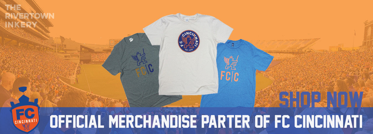 Official FC Cincinnati Shirts and Apparel