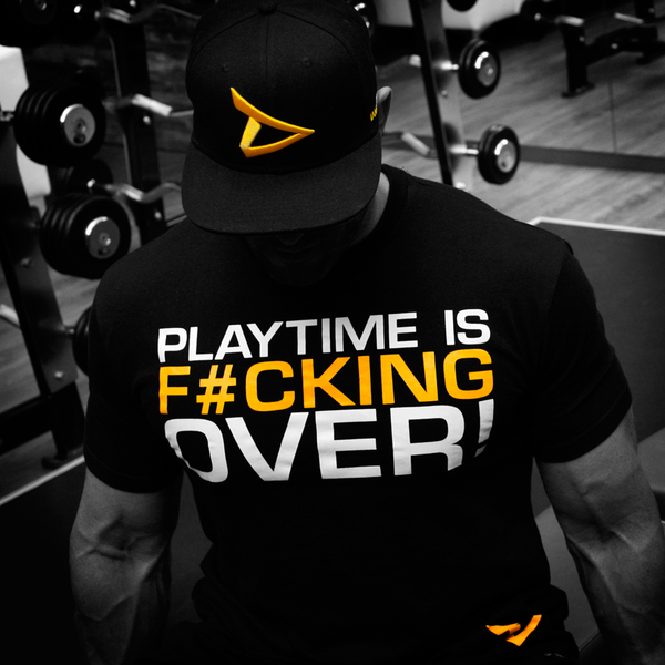 Dedicated T-Shirt Playtime is Over