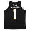 Team Dedicated Basketball Shirt back