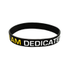 Dedicated Nutrition Silicone Wristband