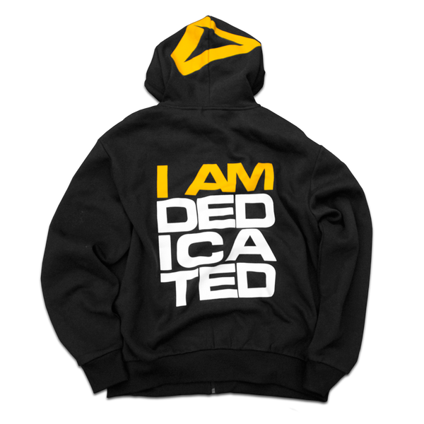 Dedicated Tracksuit Hoodie I Am Dedicated back