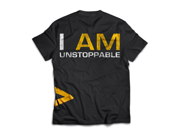 Dedicated T-Shirt I Am Unstoppable back