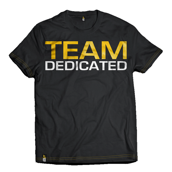 Dedicated T-Shirt Team Dedicated Front