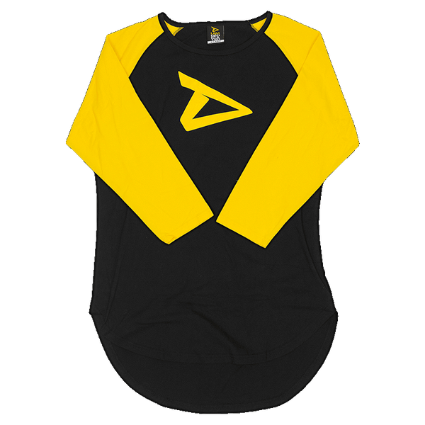 3/4 Sleeve Raglan Shirt by Dedicated Nutrition