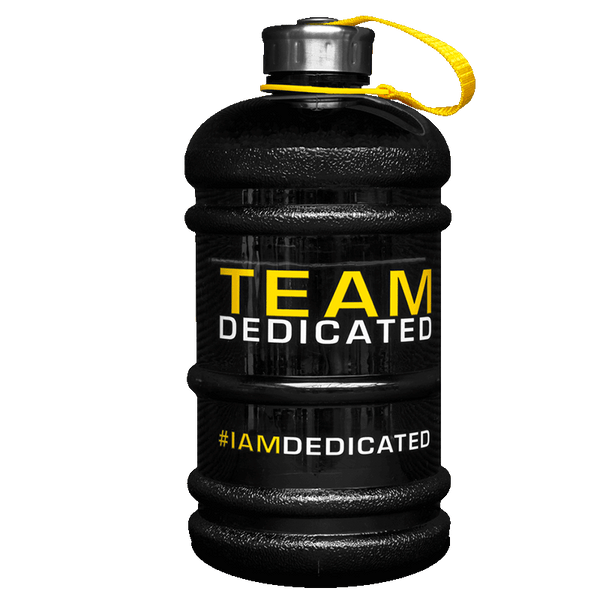 Dedicated Water Jug 2.2L - Team Dedicated