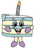 Birthday Cake Jake Cartoon Artwork
