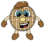 Waffle Aaron Cartoon Artwork