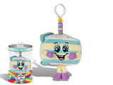 Birthday Cake Jake Backpack Clip