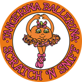 Tangerina Ballerina Sticker Pack