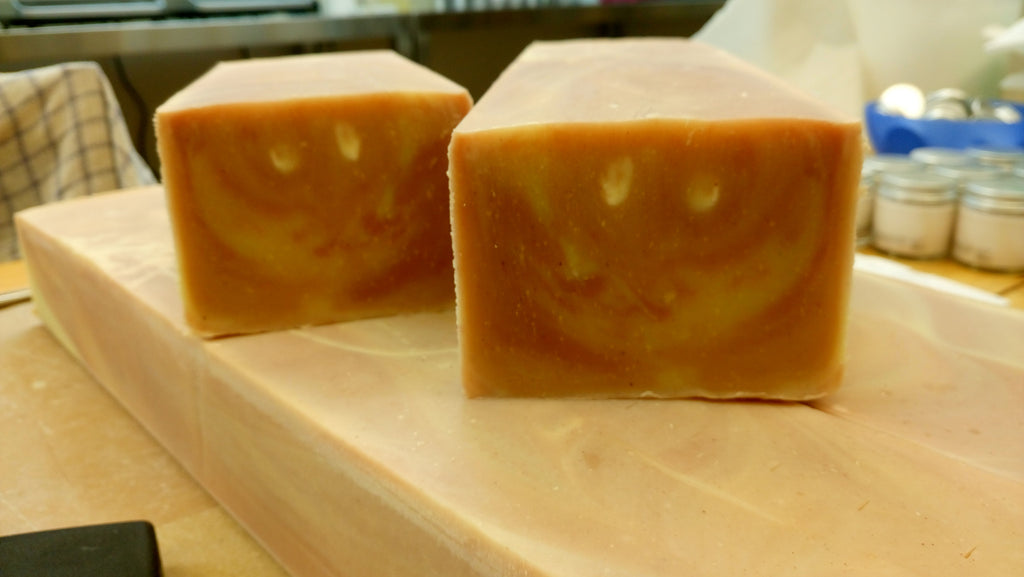 Our soap is happy, we hope it will make you happy too...