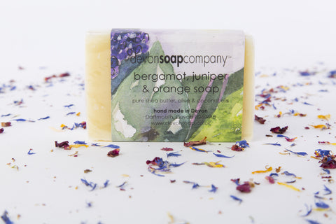 Bergamot, Juniper & Orange Soap