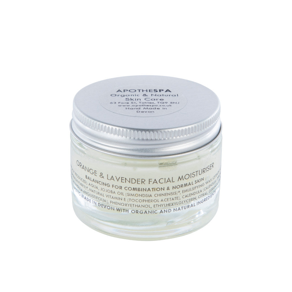 Orange & Lavender Face Moisturiser