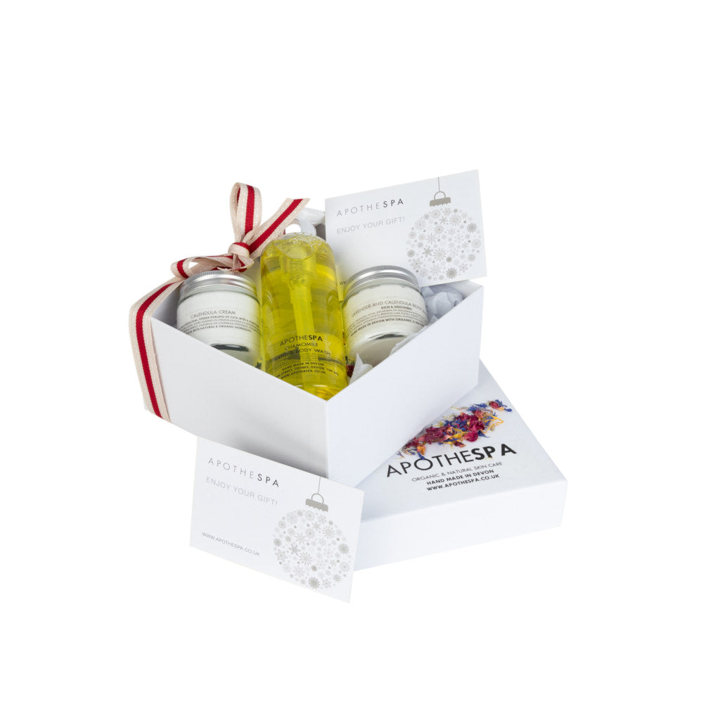 Chamomile, Lavender & Calendula Hand & Body Gift Box (sensitive)