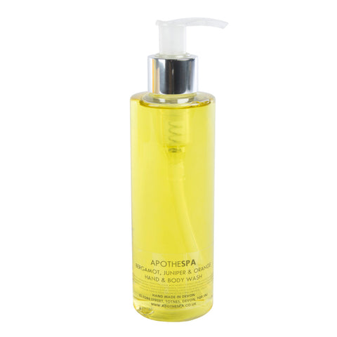 Bergamot, Juniper & Orange Hand & Body Wash