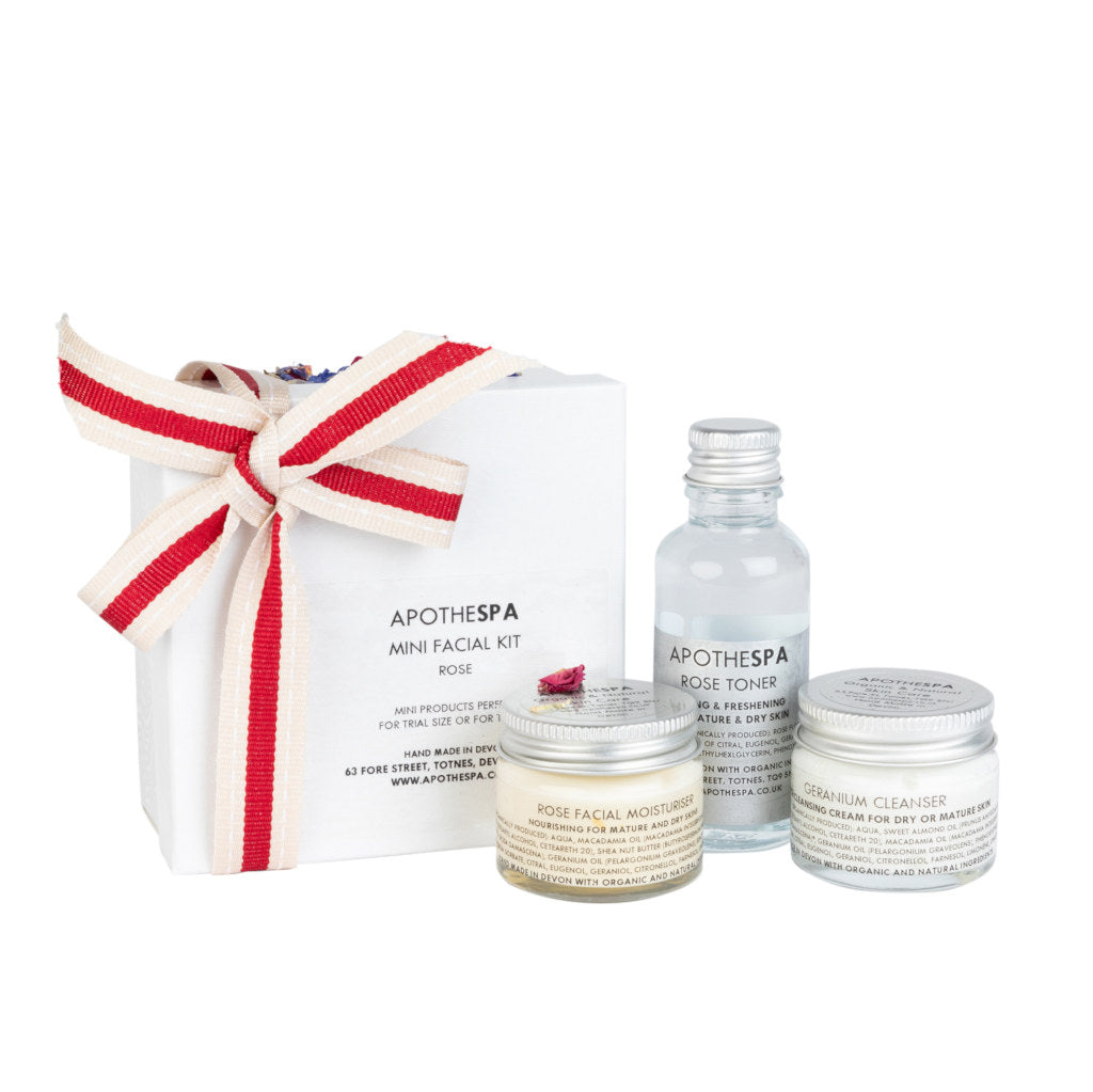 Rose & Geranium Mini Facial Kit