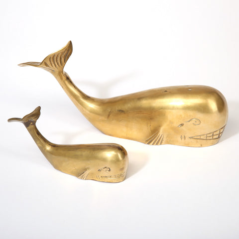 Mother and Child Whale Figurines No. 0001