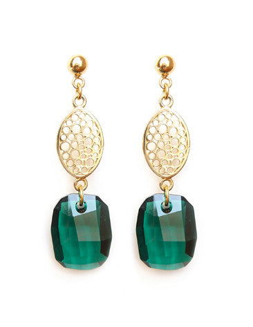 Emerald Dream earrings