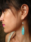 Turquesa earrings