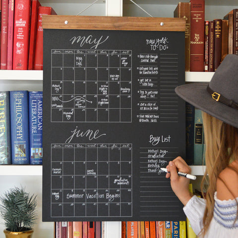 Big Write-In Calendar (Black)