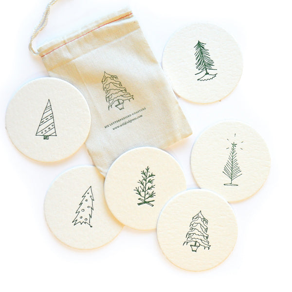 Oh Christmas Tree Coasters