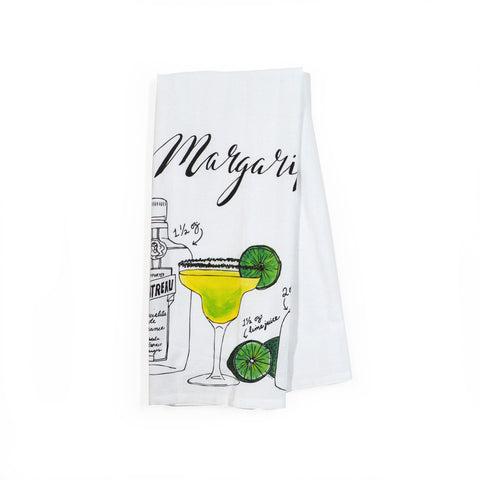 Margarita Classic Cocktail Tea Towel