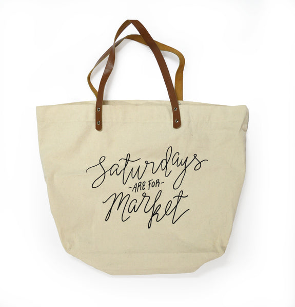 Saturdays Tote Bag