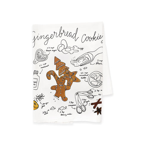 Gingerbread Cookies Tea Towel