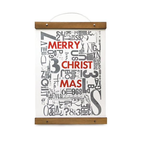 Merry Christmas Type Jumble