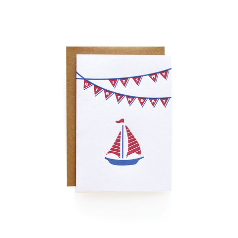 Sailboat Invitations