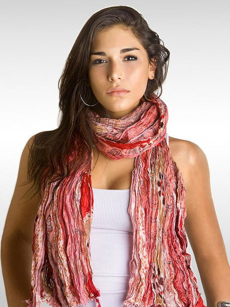 Dusty Rose Vintage Sari Wrap