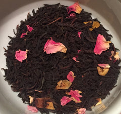 organic mango rose vanilla black tea