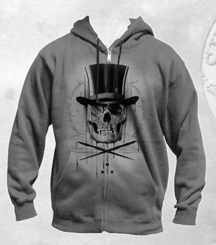 Sullen Diamonds and Stones Zip Up Hoodie