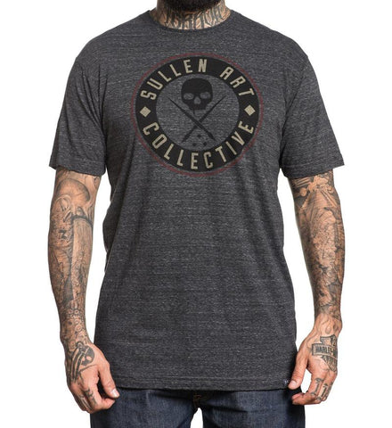 Sullen Men's Badge Of Honor League T-shirt